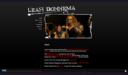Leah Bonnema, stand-up comic
